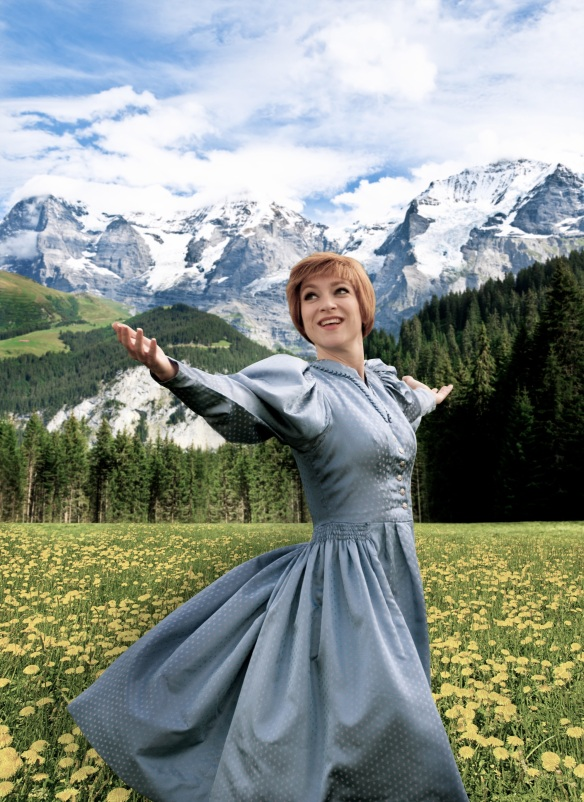Sarah-Louise Young will play a Julie Andrews impersonator in Julie Madly Deeply