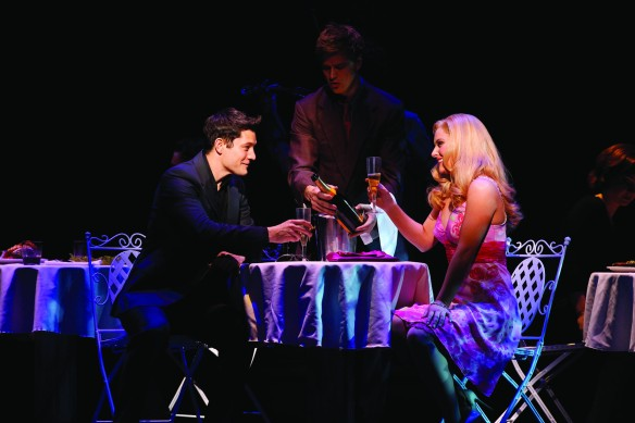 Rob Mills and Lucy Durack in Legally Blonde. Photo: Jeff Busby