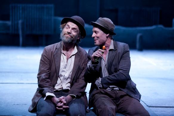 Hugo Weaving and Richard Roxburgh. Photo: Lisa Tomasetti