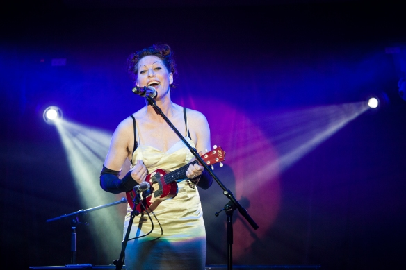 Amanda Palmer at the Sydney Festival. Photo: Jamie Williams
