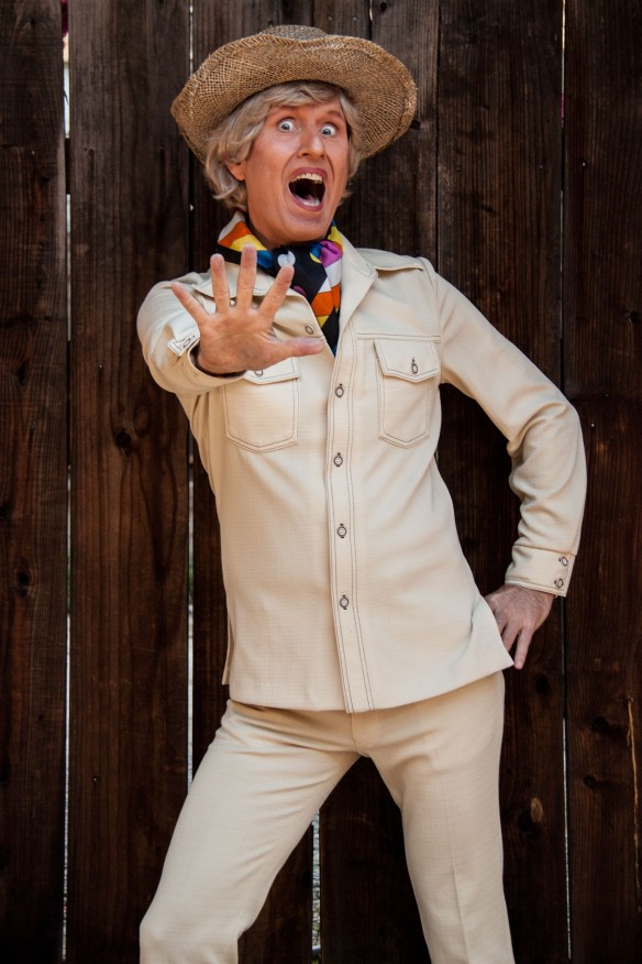 Bob Downe (aka Mark Trevorrow). Photo: Suzanna Shubeck