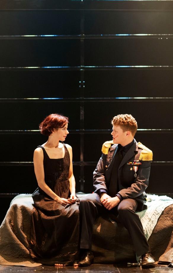 Francesca Savige and Edmund Lembke-Hogan. Photo:  Seiya Taguchi