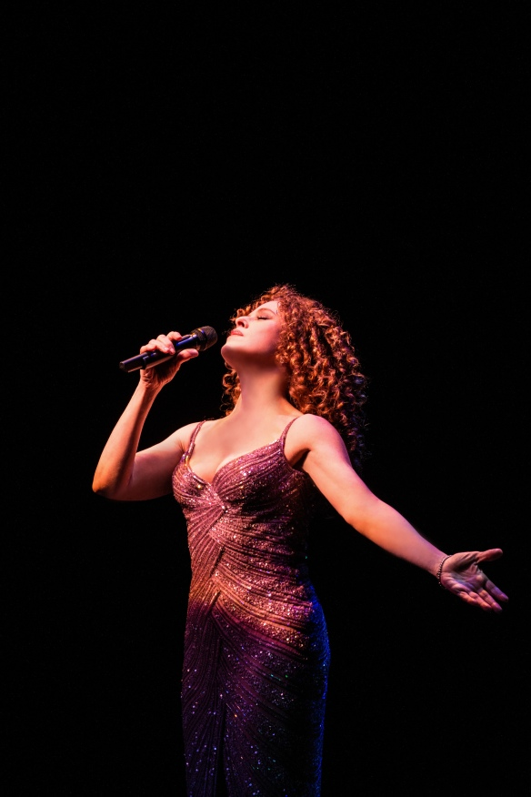 Bernadette Peters performing in Sydney. Photo: Kurt Sneddon