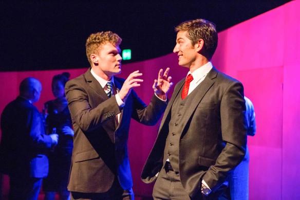 Edmund Lembke-Hogan and Andrew Cutcliffe. Photo: Noni Carroll