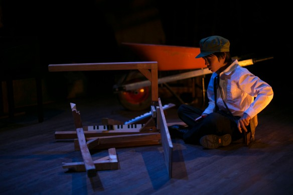 Isaiah Powell as Little Liu. Photo: Tessa Tran