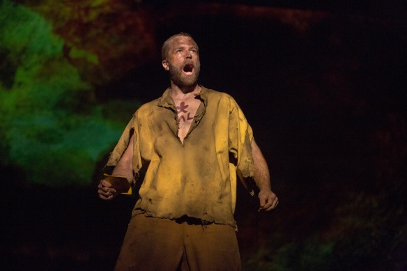 Simon Gleeson as Jean Valjean. Photo: Matt Murphy