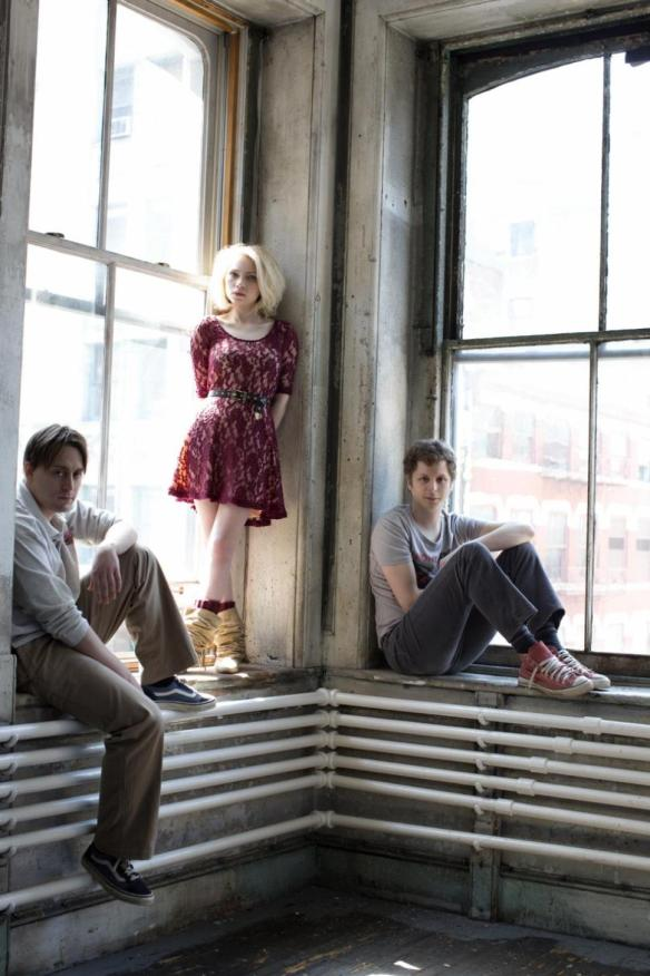 Kieran Culkin, Tavi Gevinson and Michael Cera. Photo: Brigitte Lacombe