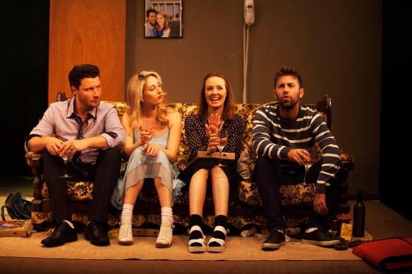 Garth Holcombe, Claire Lovering, Paige Gardiner and Tim Reuben. Photo: Gez Xavier Mansfield