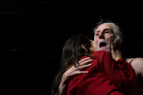 Peter Carroll with Andrea Demetriades. Photo: Pia Johnson