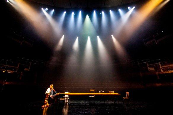 Hugo Weaving as Macbeth. Photo: Brett Boardman