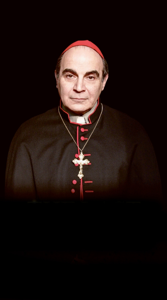 David Suchet in The Last Confession. Photo: Hugo Glendinning