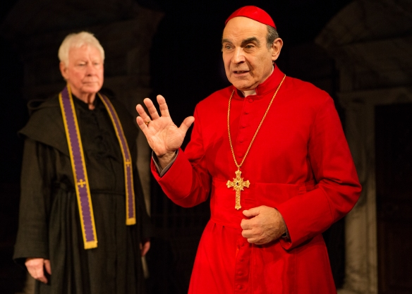 David Suchet in The Last Confession. Photo: Cylla von Tiedemann