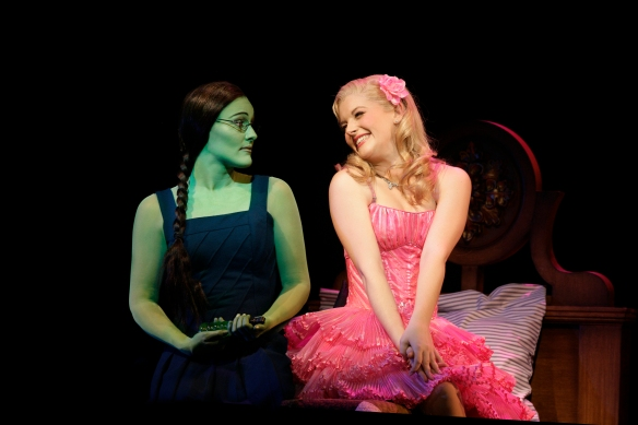 Jemma Rix and Lucy Durack.  Photo by Jeff Busby
