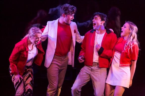 Adele Parkinson, Shaun Rennie, Tyran Parke and Kirby Burgess. Photo: Pia Moore