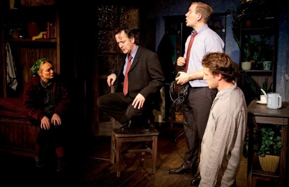 Vanessa Downing, Tony Poli, Ben McIvor and Jake Lyall. Photo: Gareth Davies