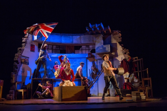 The cast of Henry V. Photo: Michele Mossop