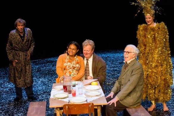 Robert Menzies, Ursula Yovich, Steve Rodgers, Peter Carroll, Kate Box. Photo: Brett Boardman