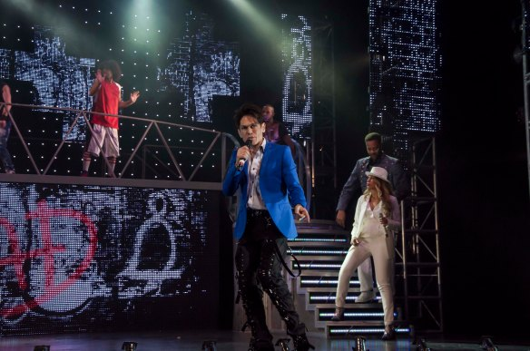 MiG Ayesa in the London production of Thriller Live. Photo: supplied
