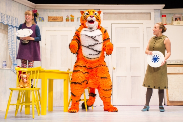 Abbey Norman as Sophie and Jenanne Redman as Mummy with the Tiger. Photo: supplied