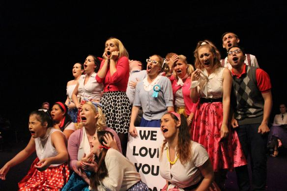 Cast of Bye Bye Birdie. Photo: Amelia Burns
