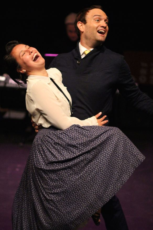 Josie Lane as Rosie and Blake Erickson as Maude. Photo: Amelia Burns
