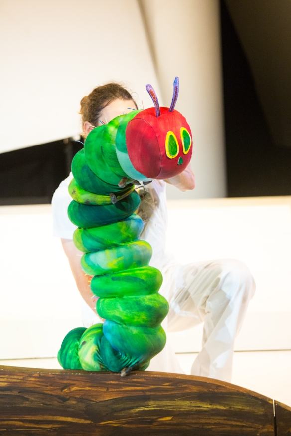 The Very Hungry Caterpillar puppet. Photo: supplied