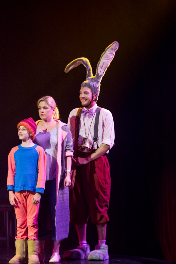 Louis Fontaine, Helen Dallimore and Nathan O'Keefe. Photo: Brett Boardman