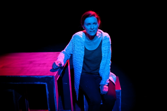Natalie O'Donnell as Diana in Doorstep Arts' Next to Normal at the Hayes. Photo: supplied