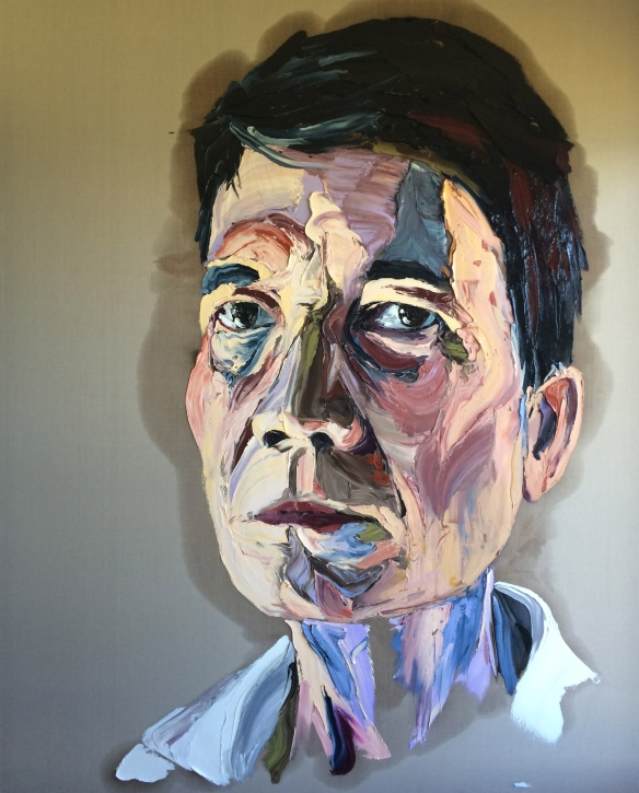Anh Do's portrait of his father. Photo: Eamonn McLoughlin