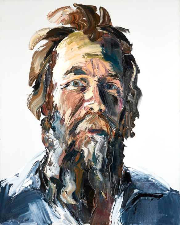 One of the portraits in Anh Do's solo exhibition Man. Photo: Eamonn McLoughlin