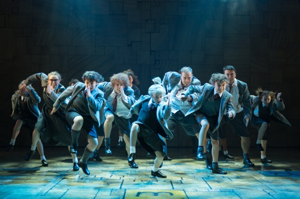 The UK company in the RSC production of Matilda the Musical. Photo: Manuel Harlan