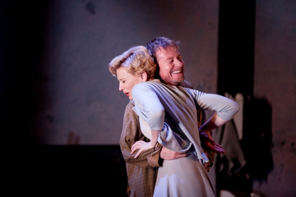 Cate Blanchett and Richard Roxburgh in STC's Uncle Vanya. Photo: Lisa Tomasetti