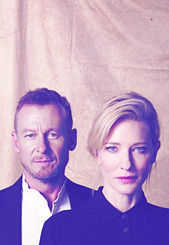 Richard Roxburgh plays Mikhail Platonov and Cate Blanchett plays Anna Petrovna in The Present. Photo: James Green