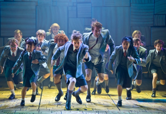 "Matilda's ""revolting children"". Photo: James Morgan"