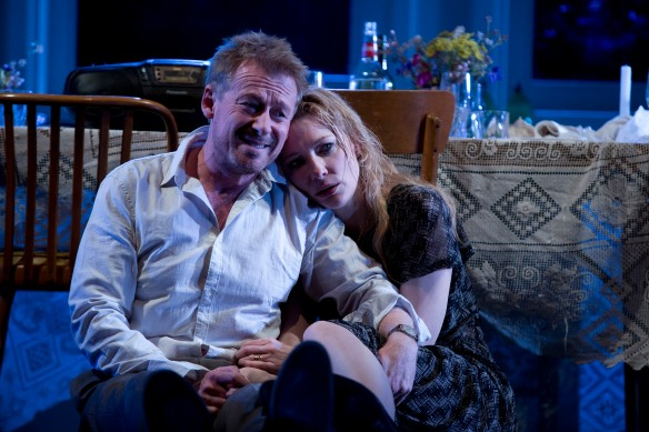 Richard Roxburgh and Cate Blanchett in The Present. Photo: Lisa Tomasetti