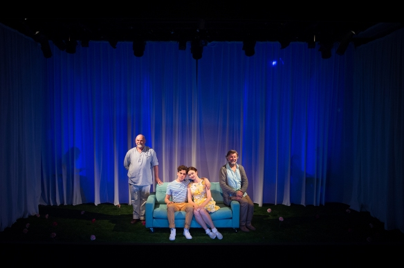 Laurence Coy, Jonathan Hickey, Bobbie-Jean Henning, Garry Scale The Fantasticks (c) Marnya Rothe