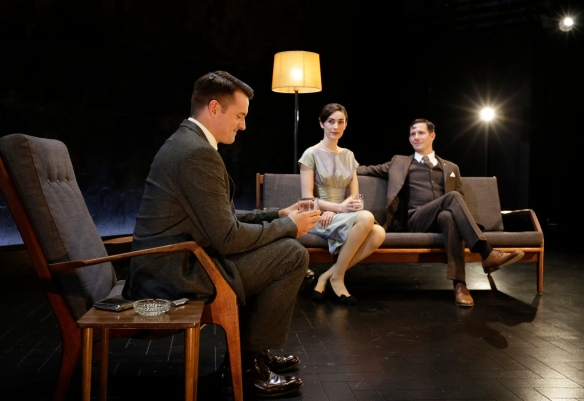 Matt Minto, Geraldine Hakewill, Simon London (c) Helen White