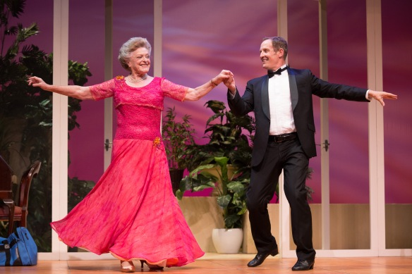 Todd McKenney and Nancye Hayes SIX DANCE LESSONS IN SIX WEEKS -41 Photo by Clare Hawley