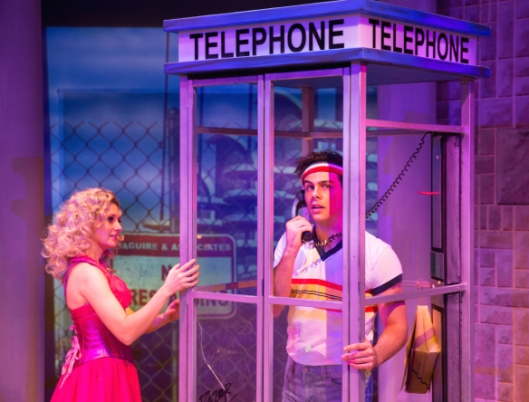 Jaime Hadwen and Ainsley Melham in XANADU (c) Frank Farrugia
